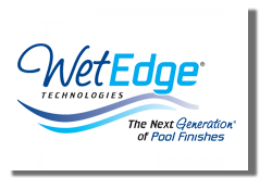 Unique uses WetEdge in our pool design projects